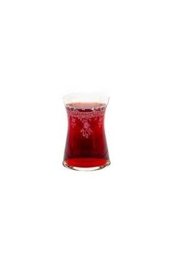 Bohemia Crystal Florale 6 Parça Çay Bardağı Renkli